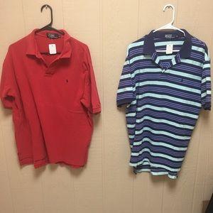 Men's Ralph Lauren Polo Shirts (3) XL